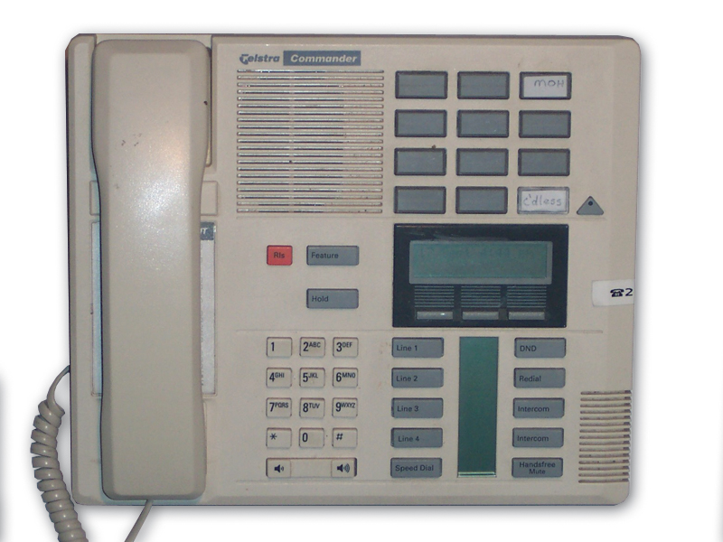 Switchtek Gold Coast services Commander NT40 Telephone Systems